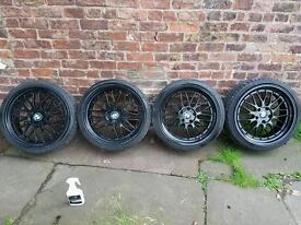 """19"""" STAGGERED BBS LM REPS"""