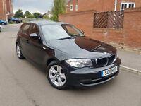 2011 BMW 1 SERIES 118D SE 6 SPEED MANUAL BLACK FACELIFT 1 OWNER F.S.H 2 KEYS LONG MOT BARGAIN!!