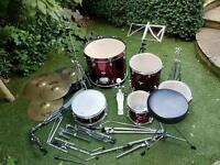 Drum kit Tornado complete