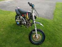 125cc pit bike thump star