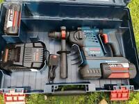 Bosch Cordless Rotary Hammer GBH 36 VF-LI Professional Plus as new