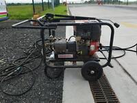 Cleanwell diesel pressure washer
