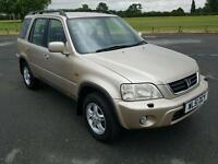 Honda CRV 2-litre petrol manual webex service history MOT in very good condition for the age