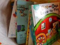 Free large bags of baby toddler toys and books