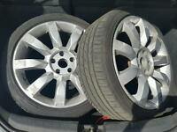"18"" 5X112 AUDI VW SEAT SKODA ALLOYS NO TYRES"