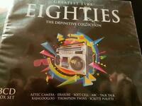 The greatest eighties the definitive collection (3 disc) new and sealed