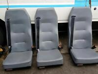Ford transit bus seats for 6
