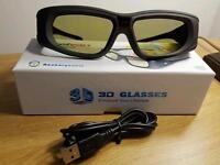 New 3D (Active) Glasses