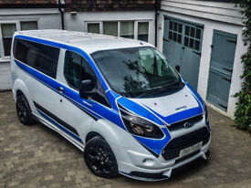 Ford Transit Custom TSport Edition Modified One Off MSport Style 62k mile NO VAT