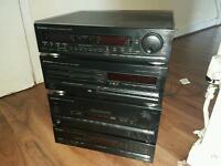 pioneer stack system seperates all working good condition