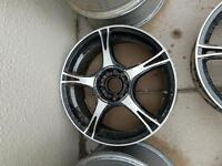 5x100 17inch alloy wheels volkswagen golf, audi a3