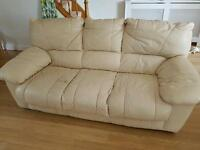 Three Piece suite (sofa and 2 armchairs)