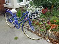 Vintage Raleigh ladies Cycle - Bike - Womens - Hybrid -