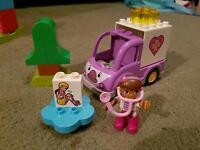 Doc McStuffins Duplo (Lego) Ambulance set