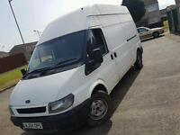 Ford transit with airide suspension