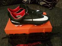 Nike mercurial vapour football boots size 9