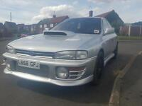 impreza version 1 rust free wrx turbo