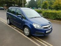 7 seats New shape Vauxhall Zafira 10 months MOT , good condition drives well ,px welcome