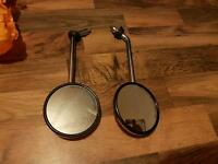 Vespa side mirrors x2