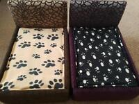 hand made luxury dog/cat beds