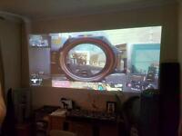 Projector Hitachi Ltd multimedia projector