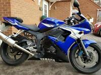 Yamaha r6 motorcycle 600cc possible px volt wagon t4 or t5 van