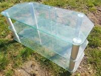 """Glass TV stand for up to 42"""""""