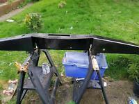 Defender winch bumper