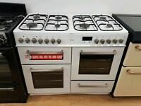 Bush Dual Fuel Range cooker 100cm width.3 months warranty