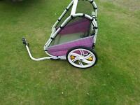 Bicycle trailer for children