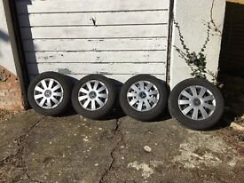MERCEDES VITO WHEELS AND TYRES