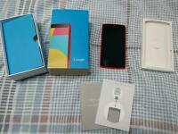 Google Nexus 5 16gb red UNLOCKED