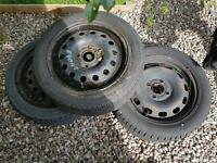Ford Fiesta Steel Wheels