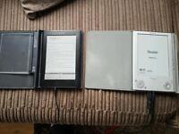 2 x Sony E-readers.