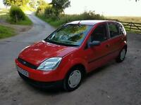 2003 ford fiesta finesse five door 1.25 only 57654 miles very nice car
