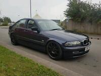 Diesel 320d E46 model bmw 12 months MOT ,full leather , Nice alloys ,1st to see will buy,px welcome