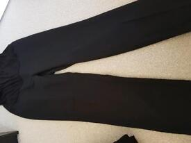 Maternity size 10 petite work trousers