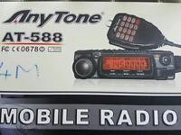 Anytone at 588 tranciever 4 meter radio