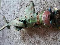 Airplane for fishtank