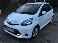 2013 TOYOTA AYGO AUTO MMT MOVE STYLE 5door WHITE VERY CLEAN
