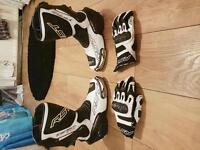 RST boots and gloves