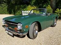 Triumph TR6 early 1969 model