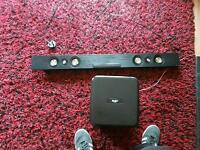 Bush soundbar with subwoofer and remote