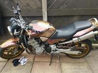 Honda hornet 900 ... swap quad crf supermoto why