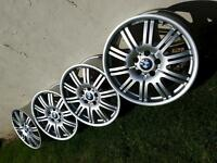 "4 x 18"" BMW M3 Alloy wheels (replica)"