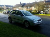 Diesel Volkswagen polo face lift model ,3 cyclinder so low insurance ,60 mpg , px welcome