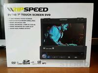 Touch screen car stereo dvd/cd player usb and sd card slots
