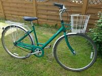 Raleigh caprice ladies bike with basket