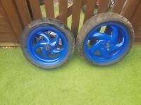 Gilera runner piaggio typhoon disk wheels
