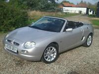 MG / MGF 1.8 Platinum Silver, low mileage 37k - (Year 2000)